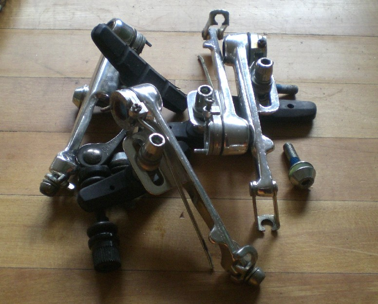 set of bike brakes