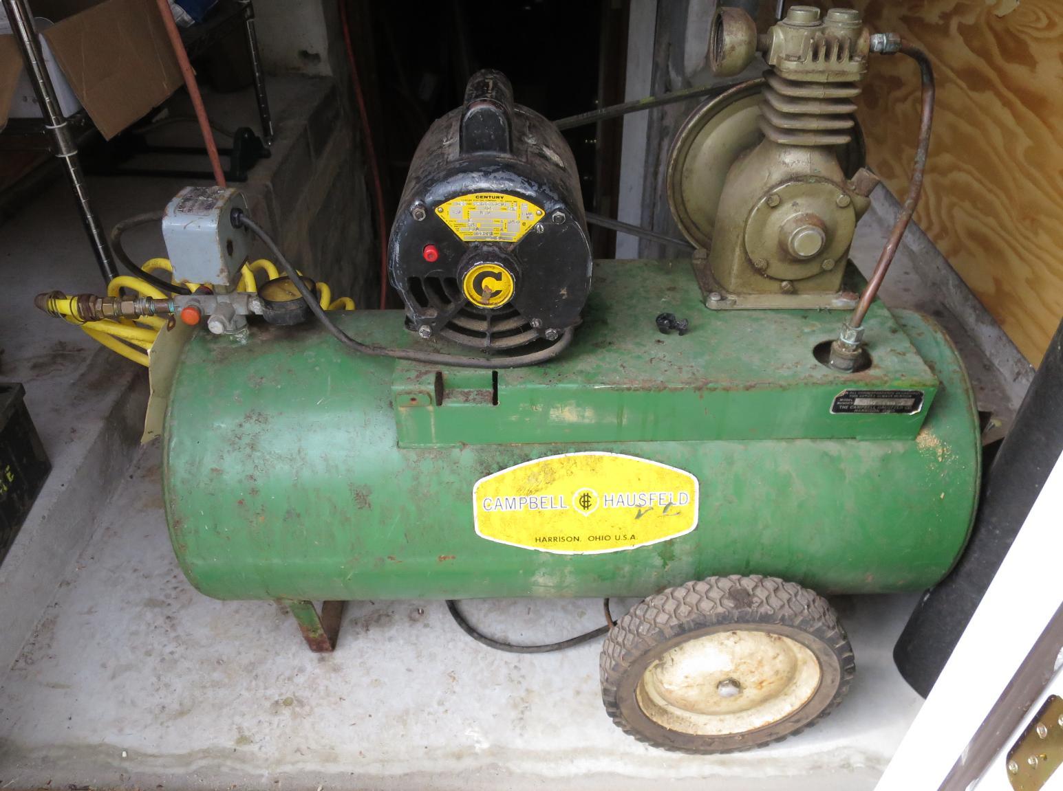 Vintage Campbell Hausfeld Air Compressor : Campbell hausfeld powerpal compressor pictures to pin on
