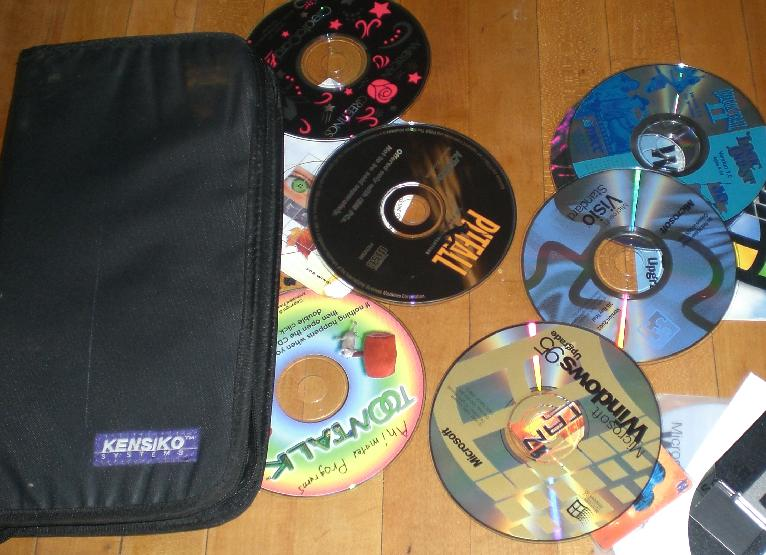 windows ME cd and more