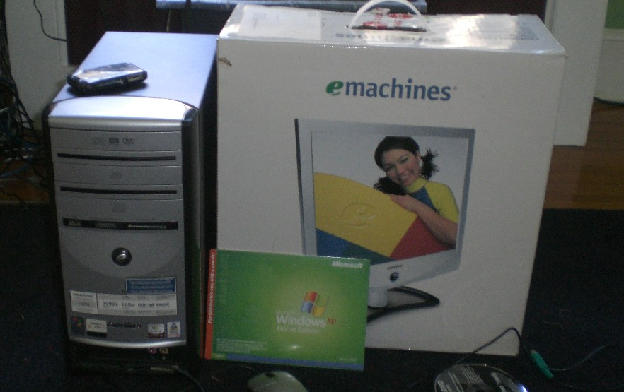 e-machine athlon