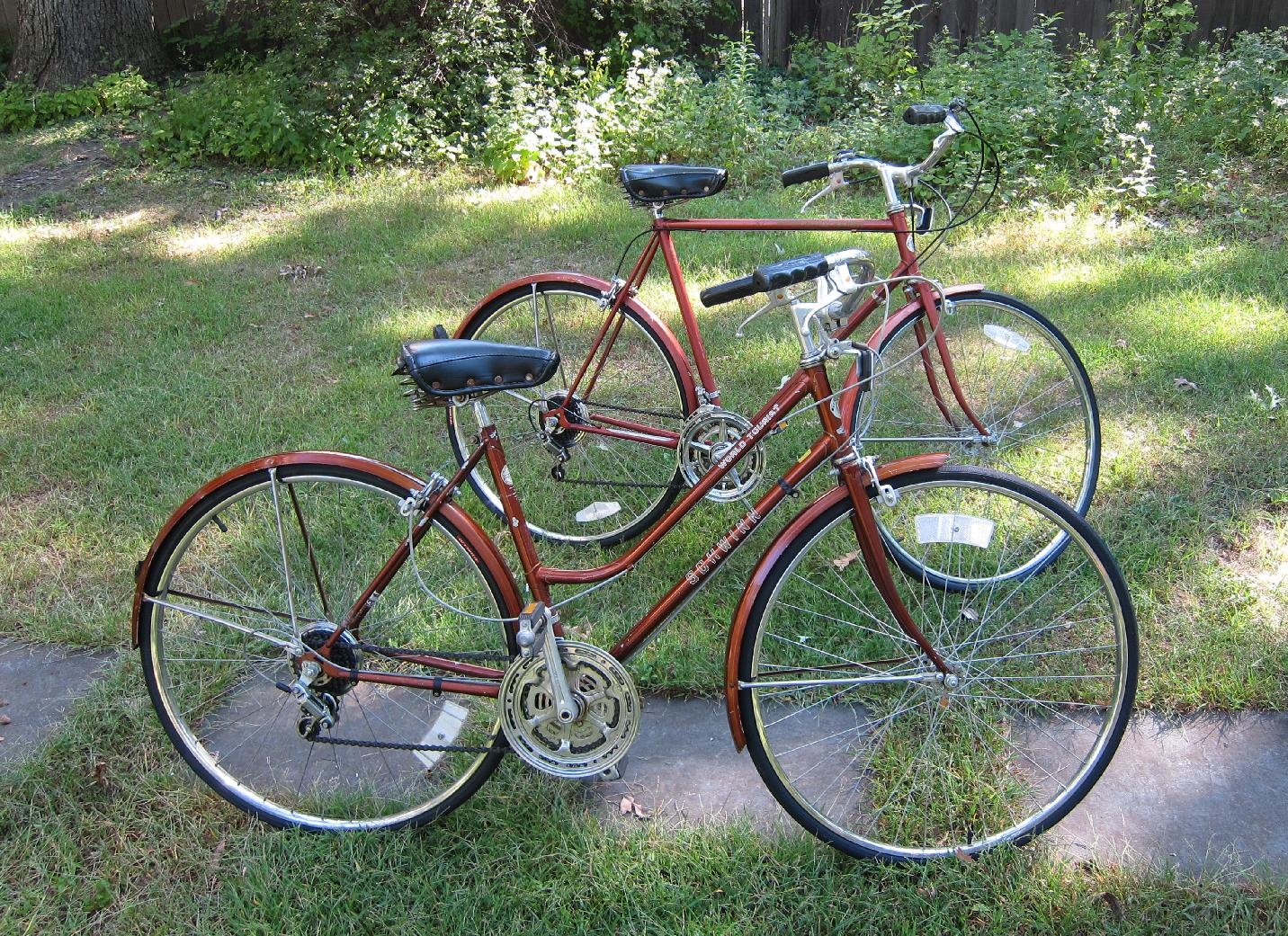 His and Hers Schwinn