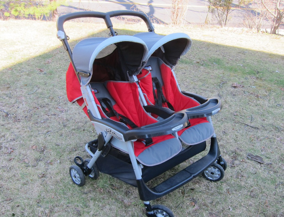 peg perego aria double stroller strollers  - stuff page  peg perego aria