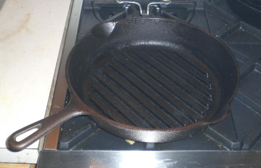 wagner cast iron ridged