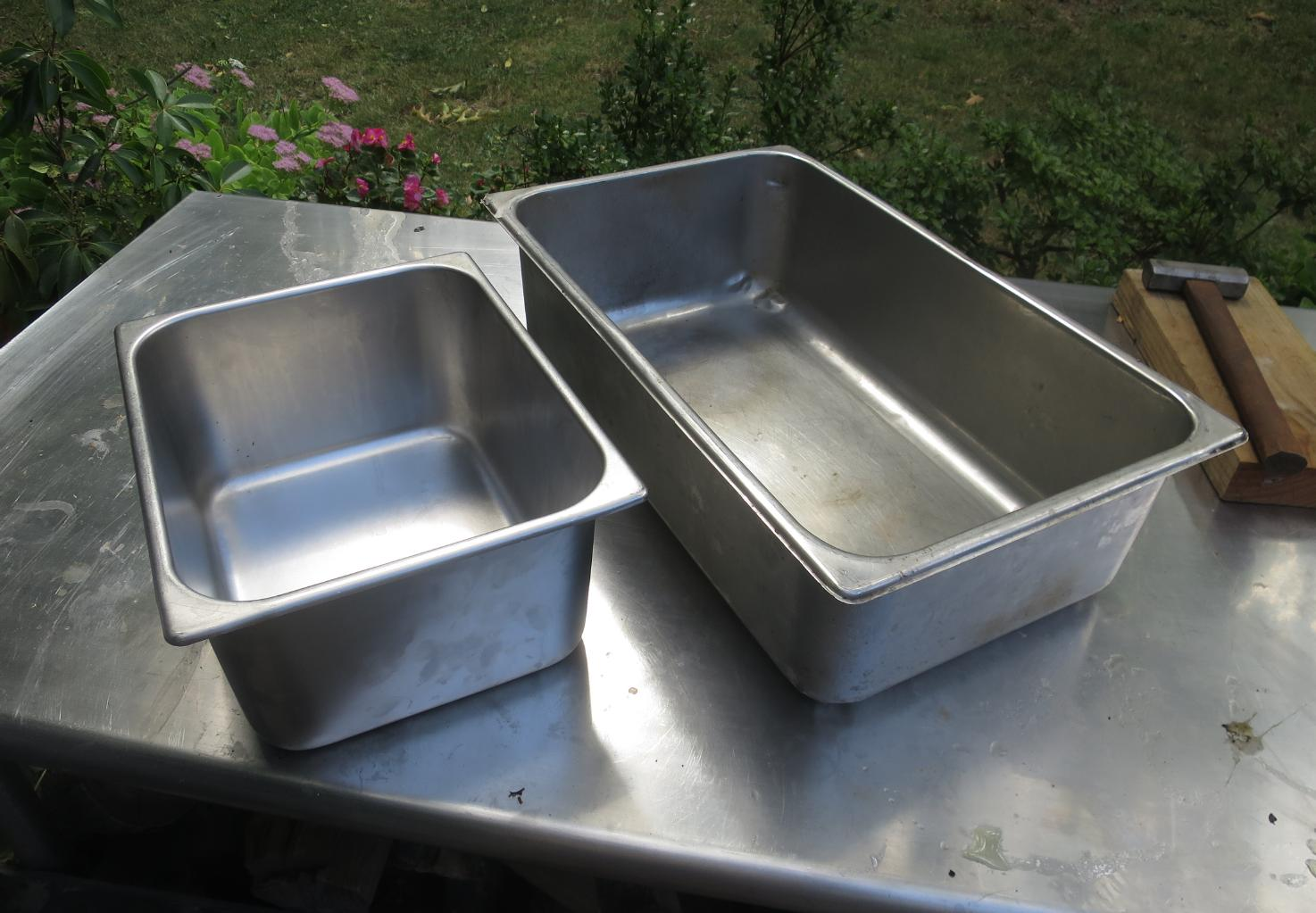 Stainless Food Trays