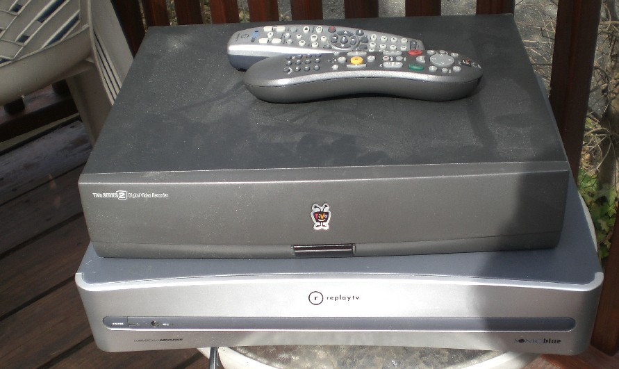 tivo series 2 and replay