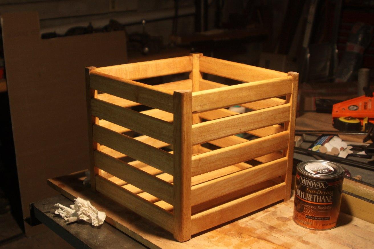 Scrap Wood Storage Box